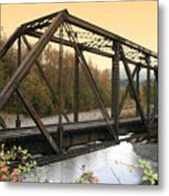 Darrington Bridge Br-6002 Metal Print
