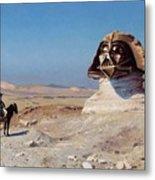 Darth Sphinx 2 Metal Print