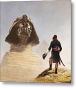 Darth Sphinx 3 Metal Print