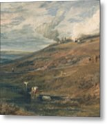 Dartmoor The Source Of The Tamar And The Torridge Metal Print