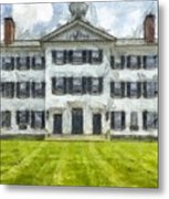Dartmouth College Hanover New Hampshire Pencil Metal Print