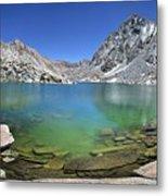 Darwin Canyon Lower Lake - Sierra Metal Print