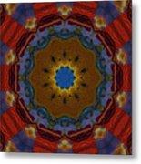 Das Bunte Kaleidoskop Metal Print