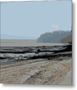 Dash Point Metal Print