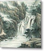 Dashan Waterfall Metal Print