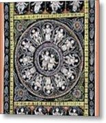 Dashavtar B/w 6 Metal Print