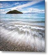 Dasia Island Metal Print