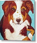 Date With Paint Feb 19 Finley Metal Print
