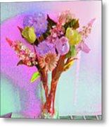 Dating Flowers Metal Print