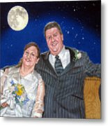 Dave And Sue Metal Print