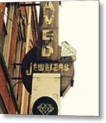 Daved Jewelers  Metal Print
