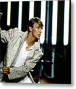 David Bowie Action Man Metal Print