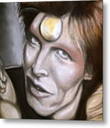 David Bowie As Ziggy Stardust Metal Print
