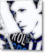 David Bowie Ground Control To Major Tom Metal Print