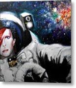 David Bowie, Star Man Metal Print