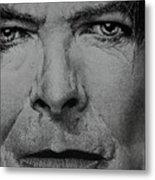 David Bowie - Eyes Of The Starman Metal Print