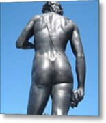 David Buttocks Metal Print