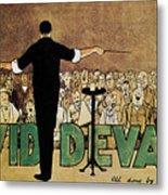David Devant Poster C1910 Metal Print