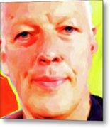 David Gilmour # 001 Nixo Metal Print