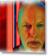 David Gilmour Red,nixo Metal Print