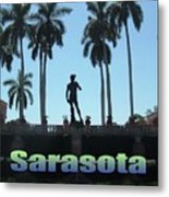 David In Sarasota Metal Print