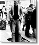 David Letterman, 010882 Metal Print