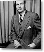 David Rockefeller B. 1915 Grandson Metal Print by Everett