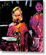 David Wingo On Stage Metal Print