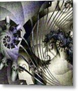 David's Lyre Metal Print