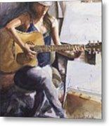 Dawb Leej - Studio Serenade Metal Print