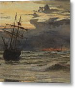 Dawn After The Storm Metal Print