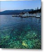 Dawn Arrives At Lake Tahoe  Metal Print