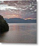 Dawn At Casa De Mundo Lake Atitlan 1 Metal Print