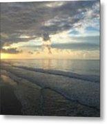 Dawn At Folly Beach Metal Print