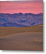Dawn At Mesquite Flat #3 - Death Valley Metal Print