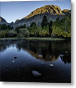 Dawn At Rush Creek 3 Metal Print