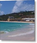 Dawn Beach Metal Print