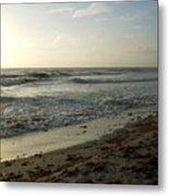 Dawn Beach Metal Print