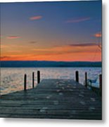 Dawn Breaking Metal Print