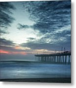 Dawn Breaking Through Metal Print
