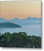 Dawn In The Smokies Metal Print