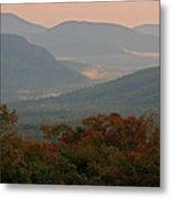 Dawn In The White Mountains Metal Print