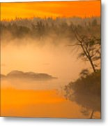 Dawn Mists Metal Print
