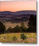 Dawn Near Ruidoso New Mexico Metal Print
