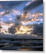Dawn Of A New Day Treasure Coast Florida Seascape Sunrise 138 Metal Print