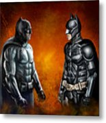 Dawn Of The Dark Knight Metal Print
