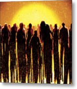 Dawn Of The Dead 2004 Metal Print