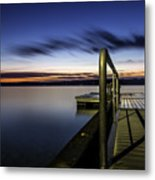 Dawn On Skaneateles Lake Metal Print