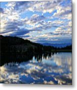Dawn Over Big Sky Metal Print