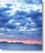 Dawn Over False Bay 2 Metal Print
